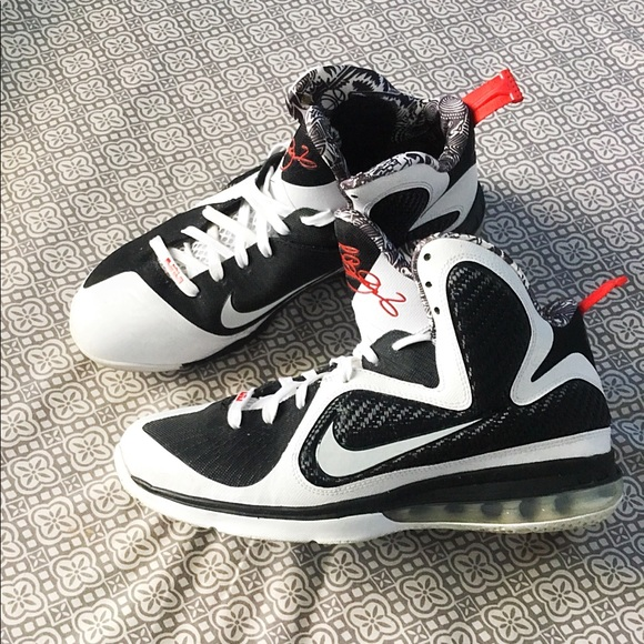 low priced 46165 42636 Nike Shoes | Lebron 9 Ix Freegum White Black Sport Red | Poshmark